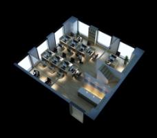 小型现代办公室