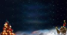 淘寶冬星空背景圖圖片