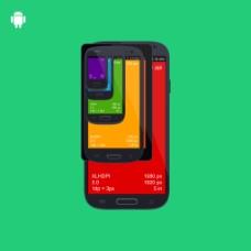 彩色手机界面