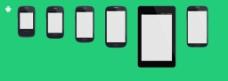 多款手机界面