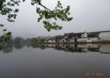 宏村南湖风光图片