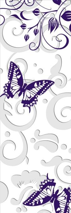 平開門 蝴蝶圖片