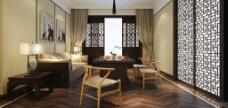典雅中式客厅