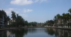 湖景摄影图片