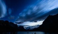 湖面摄影图片