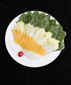 蔬菜拼盘 火锅图片