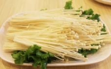 火锅 金针菇图片