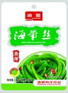 海带丝食品包装设计