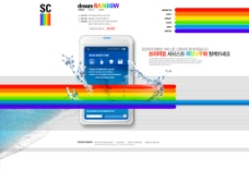 七色彩虹网页