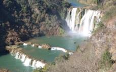 九龙瀑布图片