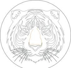 老虎頭圖片