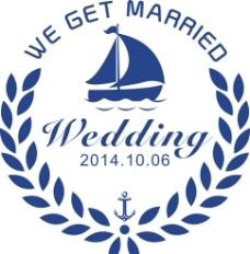 海洋婚礼LOGO图片