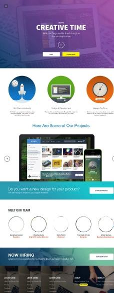 设计公司网站图片