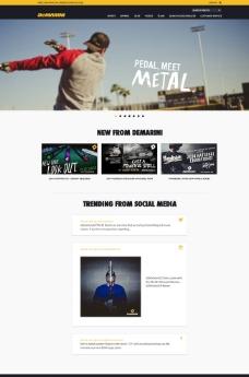 棒球网站设计图片