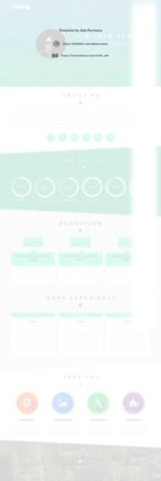 个人网页设计图片