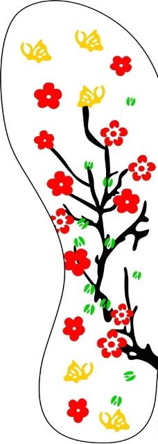 美丽腊梅花图片