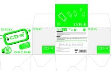 CDR产品盒子包装设计
