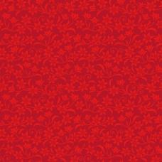 花纹图案红色背景矢量素材