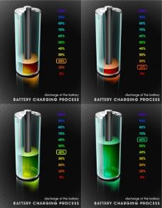 电池炫彩海报