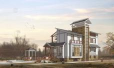 山中别墅环境设计