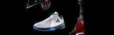 淘宝天猫匹克运动篮球鞋促销海报