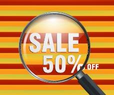 SALE50%放大镜