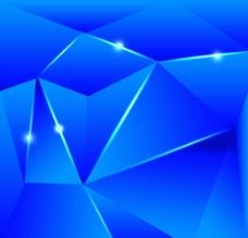 蓝色几何背景图案图片