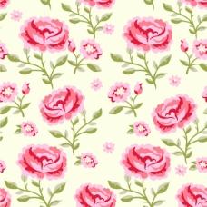 花卉海报模板