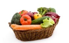 一篮子蔬菜图片