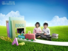 幼儿教育儿童早教幼儿园学校PPT下载