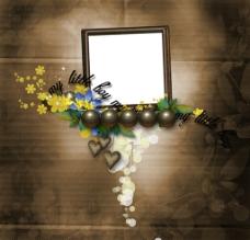 花卉电子相框图片