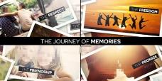 旅游旅行记忆相册AE模板