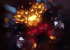 滤光背景 圆形 动感酷炫 光效图片