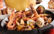 西班牙海鲜饭图片