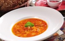 意大利蔬菜汤图片