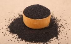 五谷杂粮系列黑芝麻摄影图图片