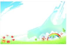 卡通风景图 校园卡通图片