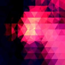 三角形海报背景