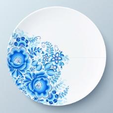 蓝花陶瓷海报