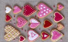 心形饼干图片