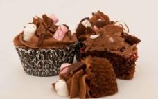 美味的纸杯蛋糕图片