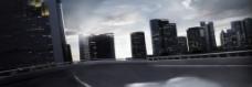 城市街道背景