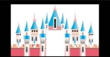 城堡  婚礼背板图片