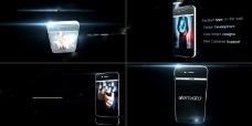 iPhone触屏手机AE模板