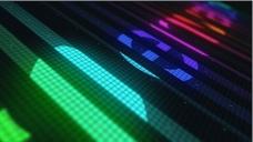 动感音符音频均衡器动画AE模板