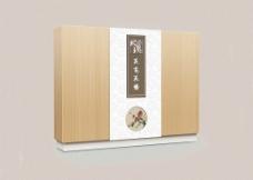 高档包装礼盒文件为展开图图片