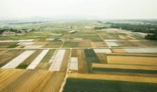 航拍农田图片