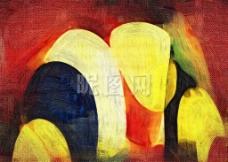 抽象装饰画 无框画图片