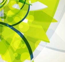 绿色抽象背景图片