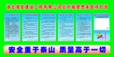 北京理想家园项目部五牌一图